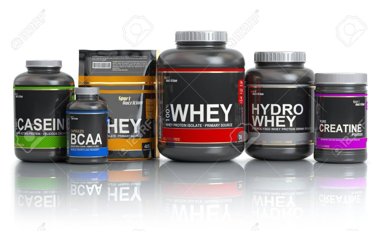 Whey Protein and other sport supplements