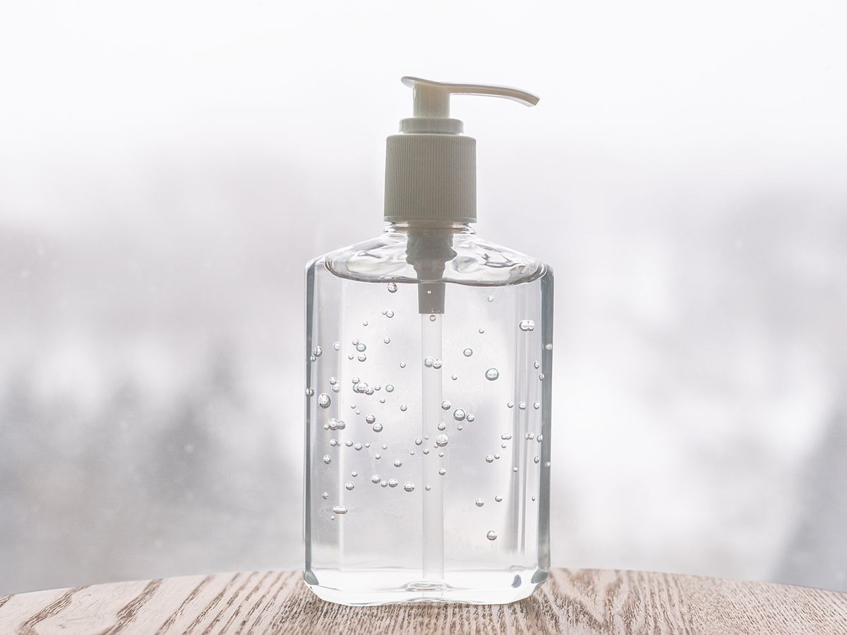 Antiseptic Instant Rinse-Free Alcohol Hand Sanitizer