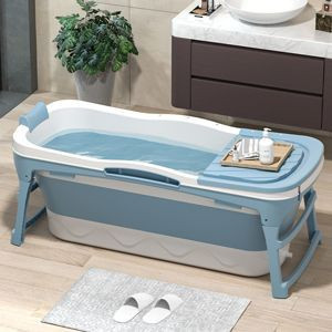 1.43M extra-long portable bathtub for adults foldable bathtub for adults