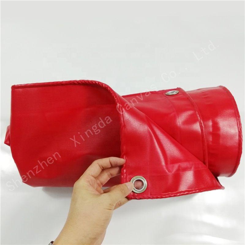 red rain cloth tarpaulin thick wear-resistant waterproof canvas
