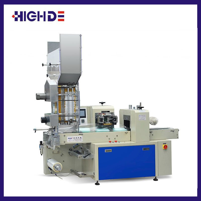 Full Automatic Drinking Straw Counting Packaging Machine (HDXX-4500)