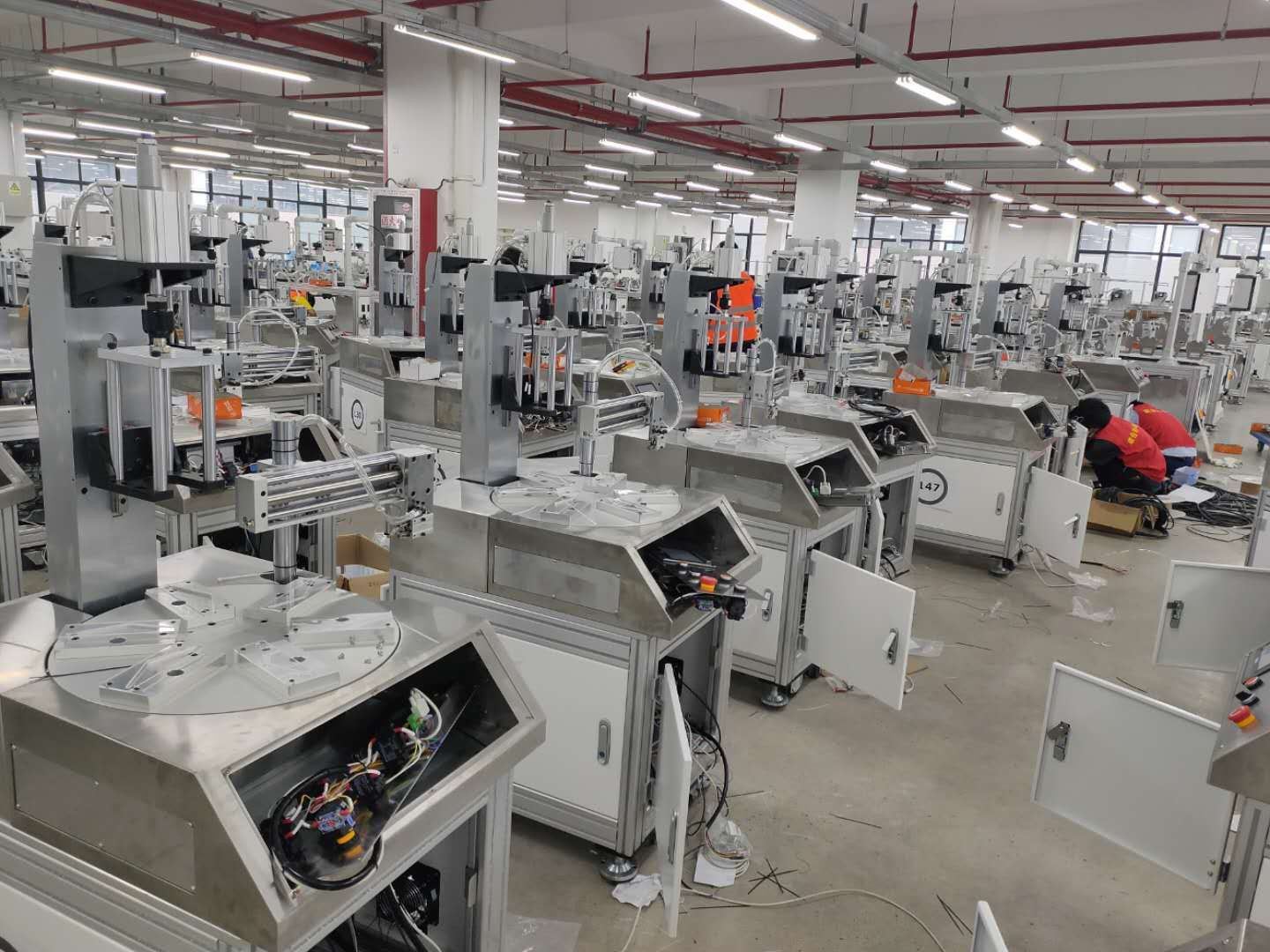 CE Certification KN95 Face Mask High-Speed Automatic Edge Bonding Machine