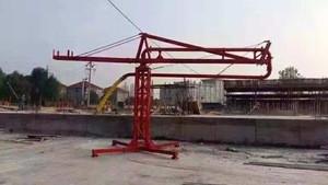 12m-18m portable Mobile Spider Concrete placing boom for construction