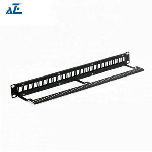 "19"" 2U Empty 48 Ports Blanking Patch Panel"