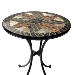 2020 hot sale Garden leisure party desk terrace mosaic table set