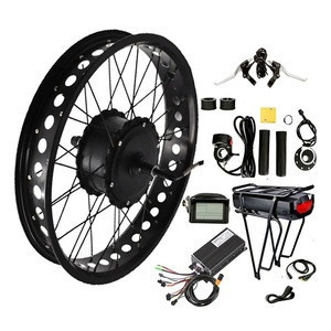 48V 60V 72V 1500W 2000W 3000W Fat tire Direct Motor Electric Bike Conversion Kits