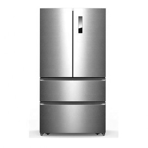 558L Household French Door Refrigerator with LED Display