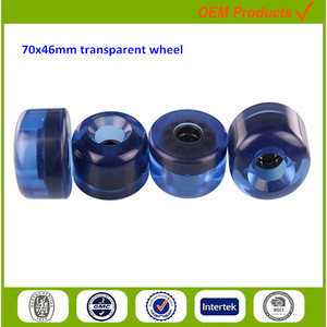 70mm tool parts high speed solid one wheel urethane