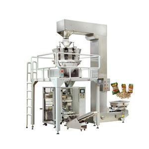 Automatic popcorn/cashew nut/potato chips packing machine price