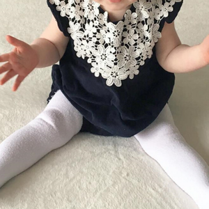 Baby Girls Lace Bodysuit Infant Sleeveless Rompers Kids Fashion Wear Clothes