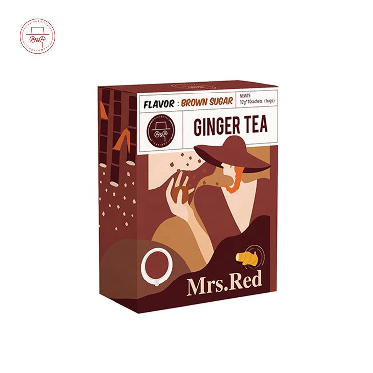 Best ginger tea with  brown sugar healthy and organic ginger herbal tea pure ginger tea with brown sugar