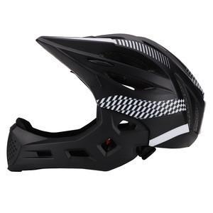 Children's slide car helmet balance car full face helmet bicycle skating bicycle helmet removable