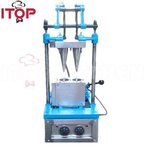 Commercial making ice cream cone machine for sale