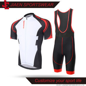 Custom men cool mesh cycling clothing set,matching cycling jersey and bib shorts set