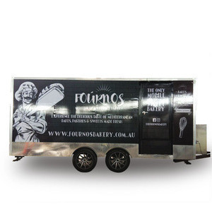 Customized Available Ice Cream Pizza Mobile Fast Food Truck VW Bus Made In China