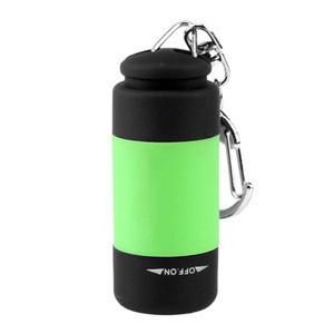 Deliver timely usb rechargeable flashlight light keys