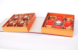 Double Book Shaped Mid-Autumn Mooncake Box
