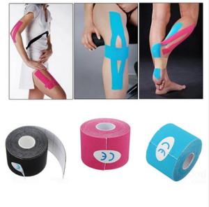Exercise muscle protective clothing Cotton waterproof 5cm kinesiology tape sports safety