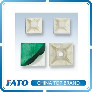 FATO TM Self-adhesive Plastic Cable Tie Mount Cable Holder