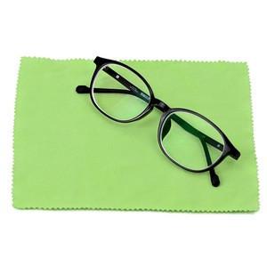Good quality custom printing logo lens eyeglass microfiber cleaning cloth