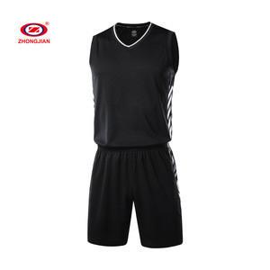 Green Blank Sublimated Jersey Top Suit Outdoor Activity Wear Custom Logo Basketball Set Uniform