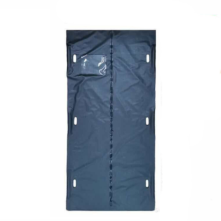 Human remains body bag 6 handles pvc peva disposable hospital medical corpse mortuary funeral body bags for dead bodies
