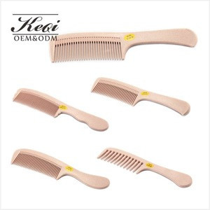 KEQI 2019 Fashion Anti Static Natural Hair Detangling Comb
