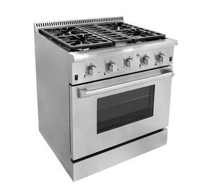 """NG /LP 30 """" kitchen appliances 4 burners freestanding gas cooker with ovens"""