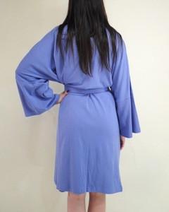 Organic Cotton Bath Robe Night Gown Sleep Wear Night Dress Solid robe From India
