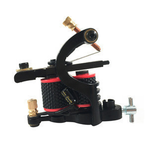 Ouliang Professional Complete Tattoo Machine Kit Beginners Include 3 Coil Machines