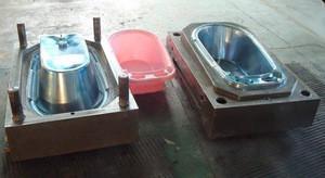 Plastic Baby Children Bath Showering Basintub Plastic Injection Mould for Baby Bath