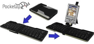 Pocketop Universal Wireless Keyboard for PDAs & SmartPhones
