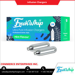 Premium Quality 8.2g Nitrous Oxide Filled FreshWhip Whipped Flavoured Cream Charger at Minimum Price
