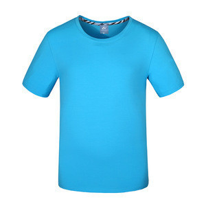 Promotional t shirt for Activity Unisex Cotton  Blank Custom T-shirts for men