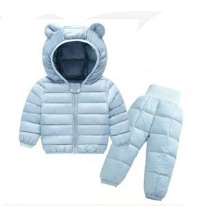 Ready to ship baby Winter warm ski suit
