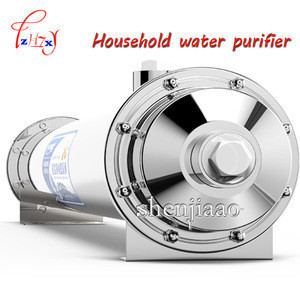 RHY-2000A Stainless Steel Ultrafiltration Water Purifier without Electricity, UF Membrane Filters Straight Drink Water Filter