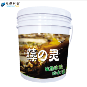 Rich in soluble biochemical fulvic acid, strike and strengthen root factor liquid fertilizer SUPER SEAWEED