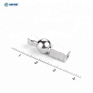 Stainless Steel Metal Ball Valve Parts Made By Powder Compaction Molding Process