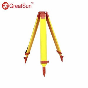 Surveying instrument theodolite/total stations/detector calibration/auto leveling laser level extension foot type wooden tripod