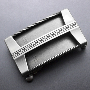 Vintage Automatic Buckle Fashion Without Belt for ratchet buckle Belt