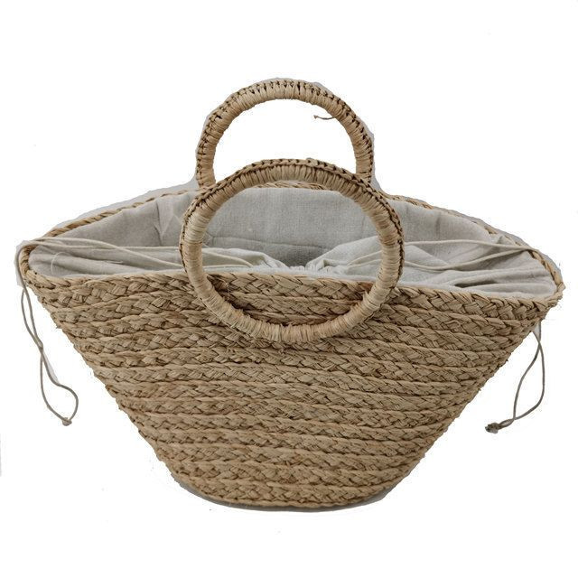 2020 new style straw bag for woman