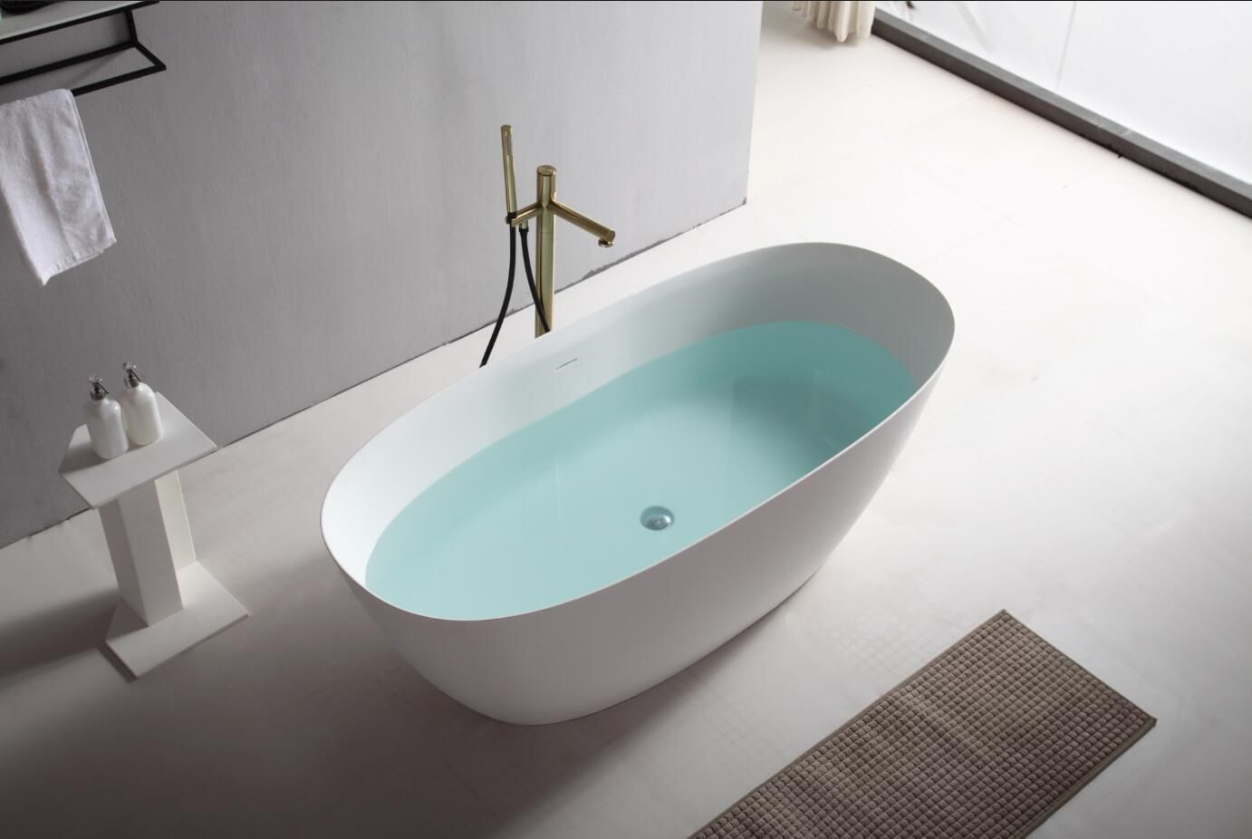 New generation artificial stone economic bath tub