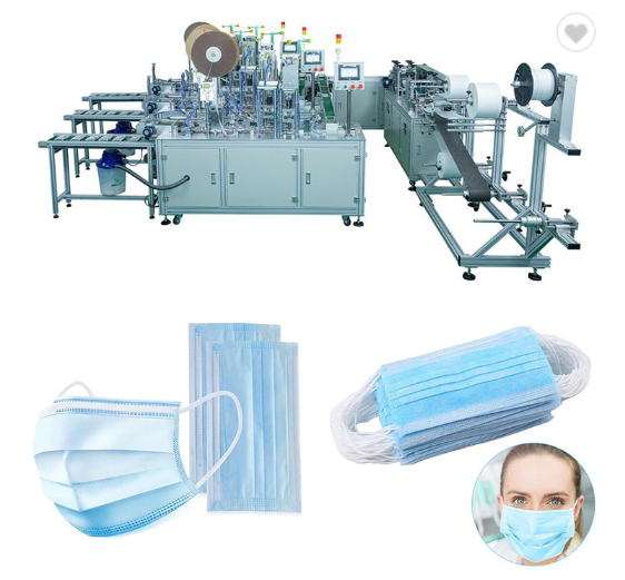 Import disposable surgical Medical non-woven mask machine from China