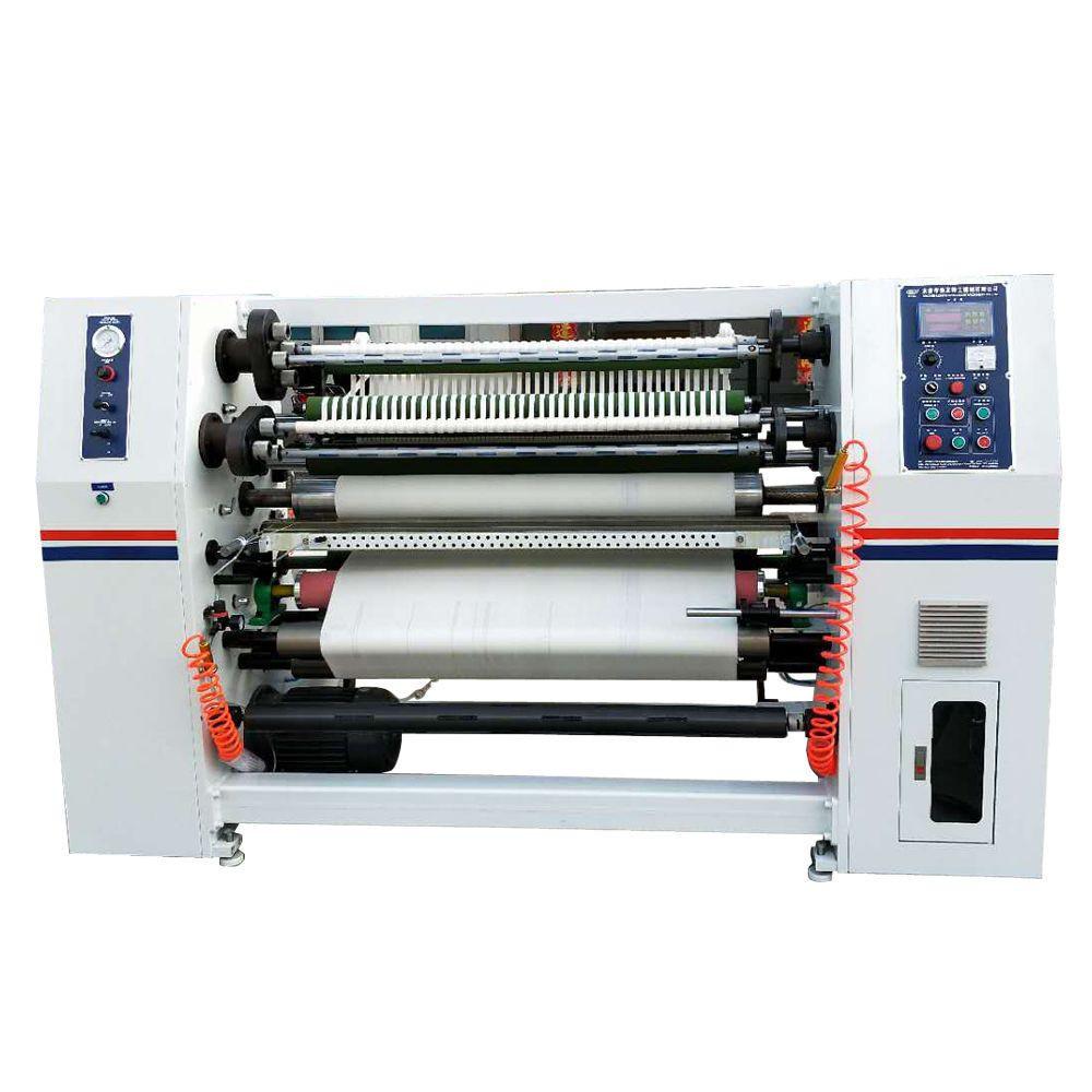 Medical adhesive zinc oxide plaster tape roll slitting making machine