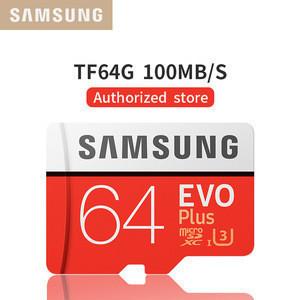 100% Original Brand SAMSUNG Micro tf evo plus class10 16G 32GB 64GB 128GB microsd Samsung sd scan disk memory card