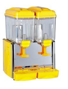 12*3L refrigerated juice dispenser juice bar equipment