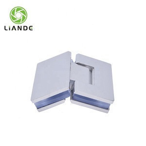 135  degree square bevel shower door wall to glass hinge