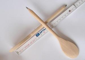 2 in 1 kichen pencil spoon