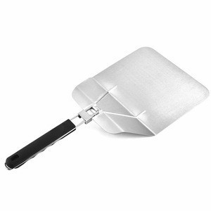 2020 Folding Baking Tool Pizza Turning Shovel Peel Paddle Stainless Steel For Grill