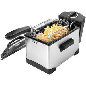 2.5L electric stainless steel deep fryer